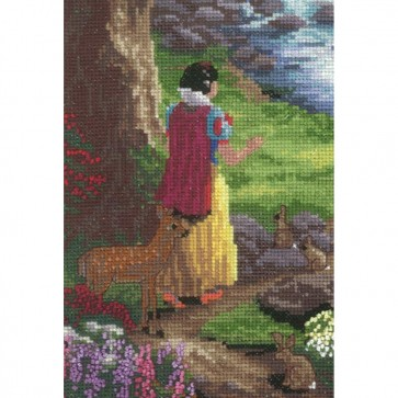 Disney Dreams Collection Snow White Counted Cross Stitch Kit