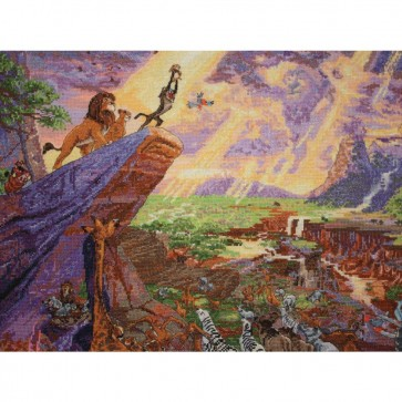Disney Dreams Collection The Lion King Counted Cross Stitch Kit