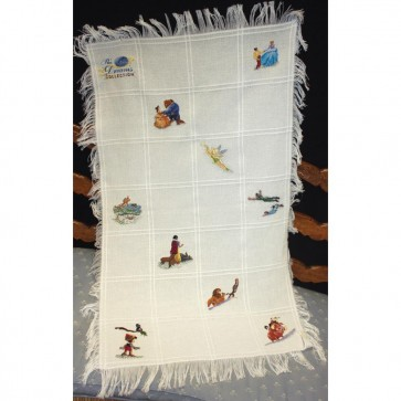 Disney Dreams Afghan Counted Cross Stitch Kit