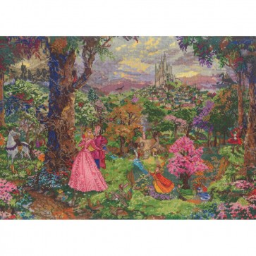 Disney Dreams Collection Sleeping Beauty Counted Cross Stitch Kit
