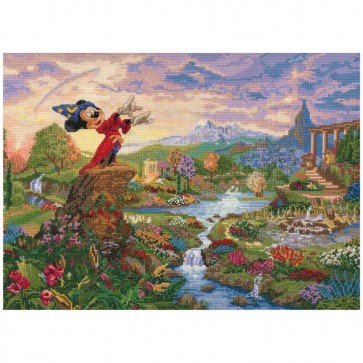 Disney Dreams Collection Fantasia Counted Cross Stitch Kit