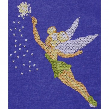 Disney Dreams Tinker Bell Counted Cross Stitch Kit