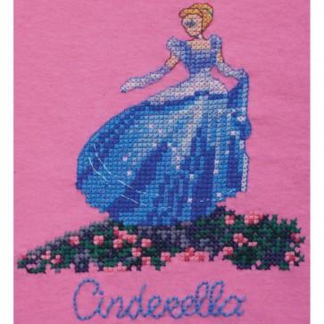 Disney Dreams Cinderella Counted Cross Stitch Kit