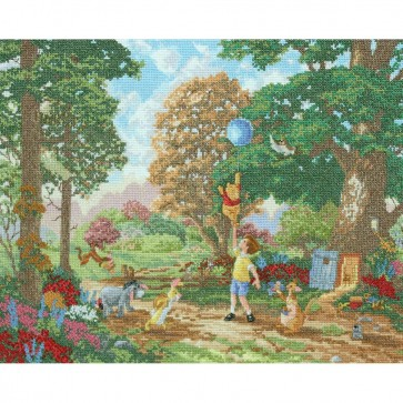 Disney Dreams Collection Winnie The Pooh Counted Cross Stitch Kit