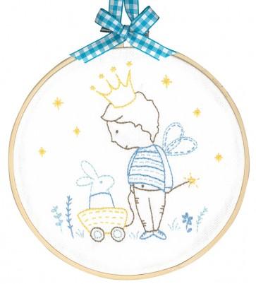DMC Printed Embroidery Kit - My Private Kingdom
