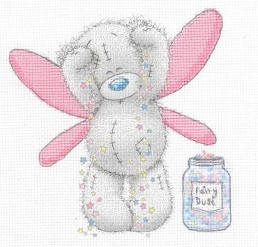 DMC Printed Cross Stitch Kit - Me to You - Fairy Dust