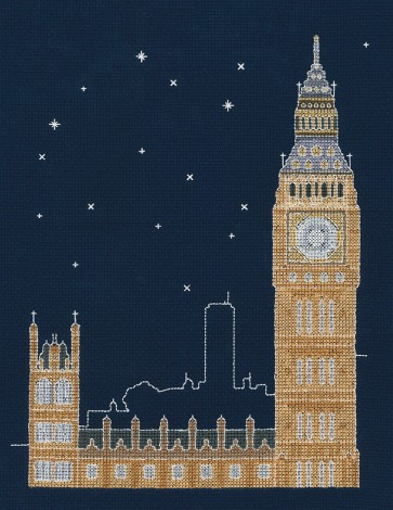 DMC Cross Stitch Kit - Mr X Stitch - London by Night
