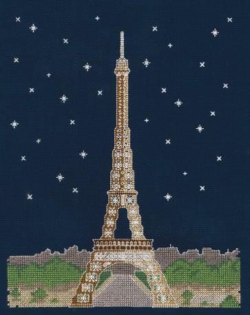 DMC Cross Stitch Kit - Mr X Stitch - Paris by Night