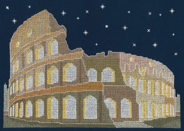 DMC Cross Stitch Kit - Mr X Stitch - Rome by Night