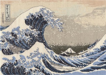 DMC Counted Cross Stitch Kit - The Great Wave