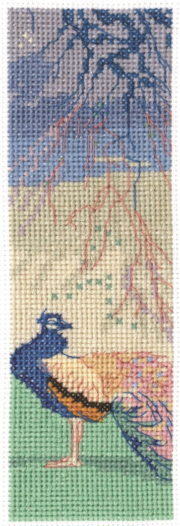 DMC Counted Cross Stitch Kit - When Winter Wanes Bookmark