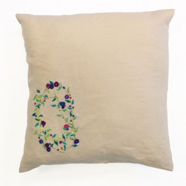 DMC Embroidery Cushion Kit - Meadow Sweet - Sprig Spiral