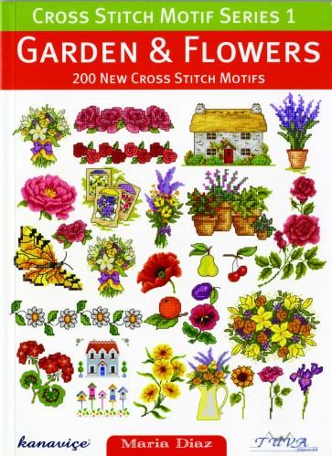 Cross Stitch Motif Series 1 Book - Garden & Flowers