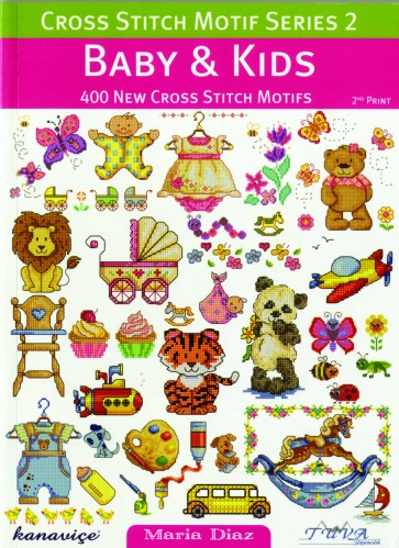 Cross Stitch Motif Series 2 Book - Baby & Kids