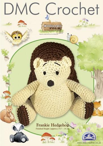 DMC Amigurumi Crochet Frankie Hedgehog Kit - Woodland Folk