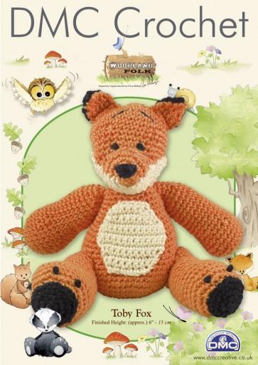 DMC Amigurumi Crochet Toby Fox Kit - Woodland Folk