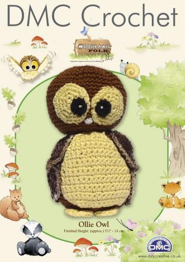 DMC Amigurumi Crochet Ollie Owl Kit - Woodland Folk
