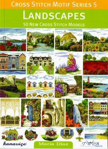 Cross Stitch Motif Series 5 Book - Landscapes