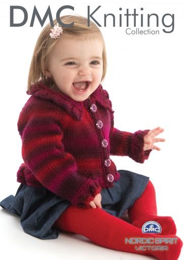 Baby Girl's Cardigan Knitting Pattern