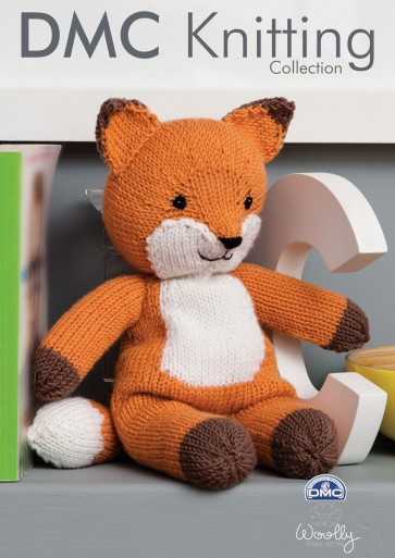 Fox Soft Toy Knitting Pattern