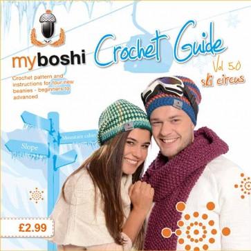 DMC Myboshi Crochet Guide Book - Ski Circus Vol 5.0 - 15109/2