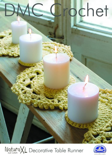 DMC Crochet Pattern - Decoration Table Runner 15232L/2