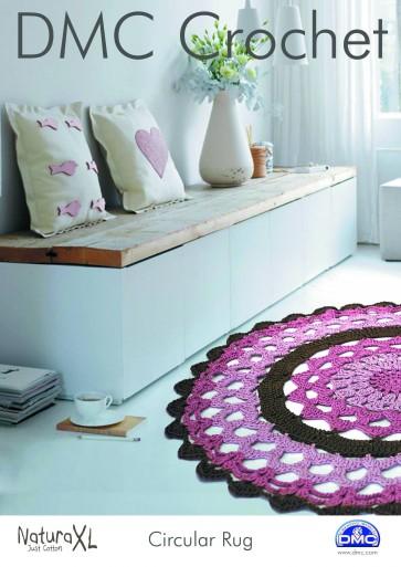 DMC Crochet Pattern - Circular Rug 15234L/2