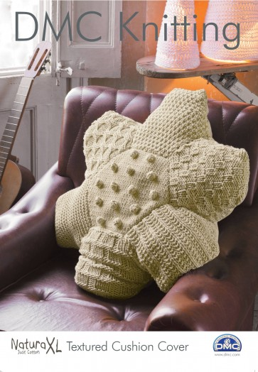 Textured Cushion Cover Knitting Pattern