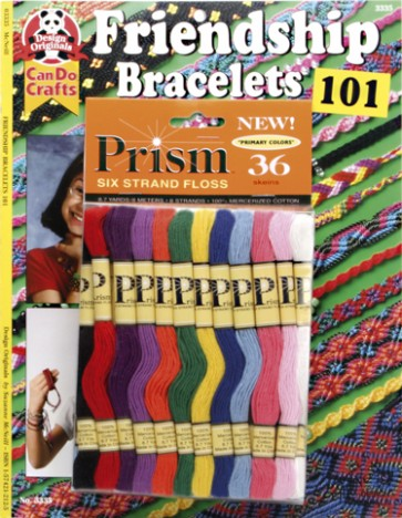 DMC Friendship Bracelets 101 Book With 36 Threads