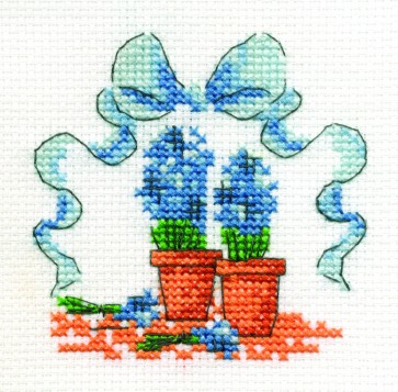 Hyacinths In Pots - Mini Flowers Kit - BK982-C