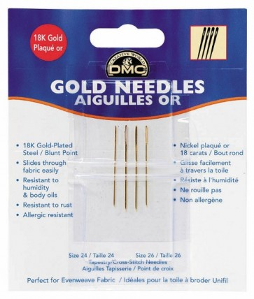 DMC Gold Plated Needles