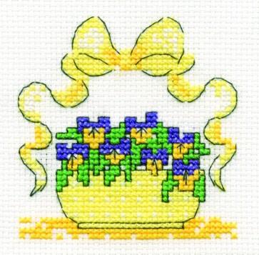 Violas - Mini Flowers Kit - BK982-F