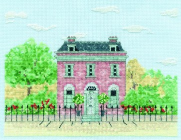 DMC Cross Stitch Kit - Architecture - Country House