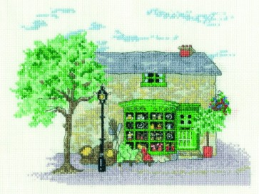 DMC Cross Stitch Kit - Architecture - Village Shop