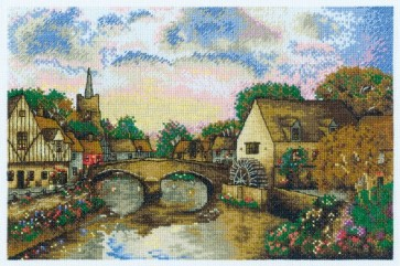 DMC Cross Stitch Kit - British Landscapes - Mill Pond