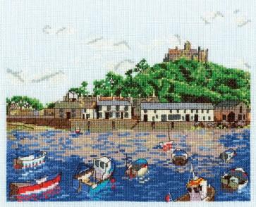 DMC Cross Stitch Kit - British Landscapes - St Michael's Mount - Low Tide