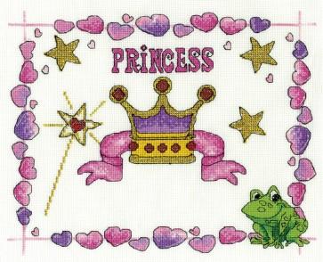 DMC Cross Stitch Kit - Childrens - Princess