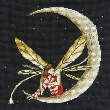 DMC Cross Stitch Kit - Fantasy - Faery Moon 8