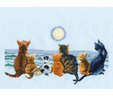 DMC Cross Stitch Kit - Cats - Cats Chorus