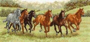 Galloping Free - Horses - BK1170