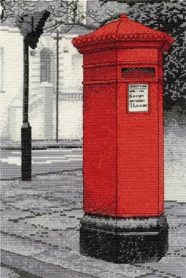 DMC Cross Stitch Kit - London Scenes - In The Post