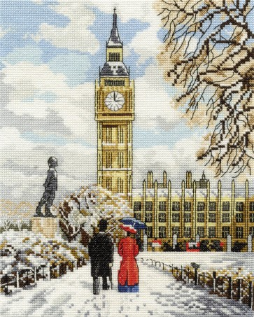 DMC Cross Stitch Kit - Nostalgia - Houses of Parliament