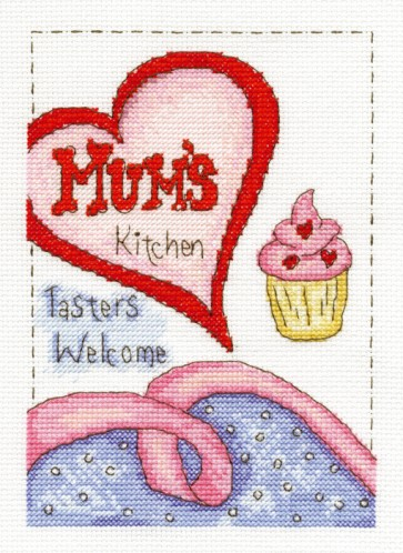DMC Cross Stitch Kit - Modern - Mum's Kitchen