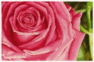 DMC Cross Stitch Kit - Flowers - Rose