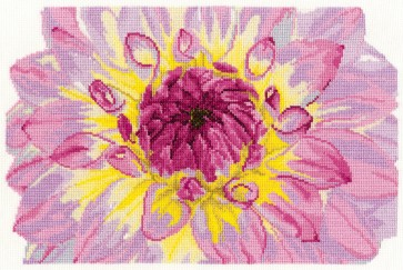 DMC Cross Stitch Kit - Flowers - Flower Bloom