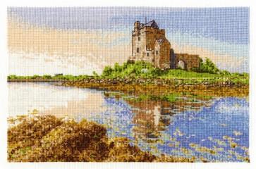 DMC Cross Stitch Kit - Castles - Dunguaire Castle