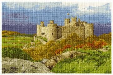 DMC Cross Stitch Kit - Castles - Harlech Castle