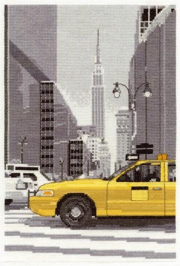 New York Taxi - World Scenes - BK1350