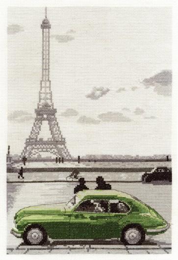 Paris Eiffel Tower - World Scenes - BK1351