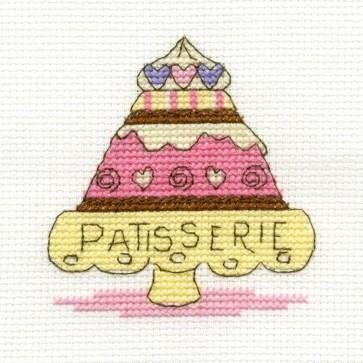 DMC Cross Stitch Kit - Sweet Temptations - Patisserie